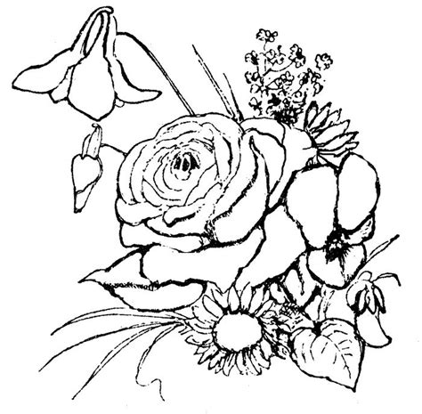 free coloring pages of easter flowers 26 best skilder inkleursketse images on