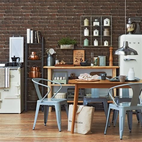 kitchen wallpaper ideas 10 of the best housetohome co uk industrial chic design room ideas ideal home