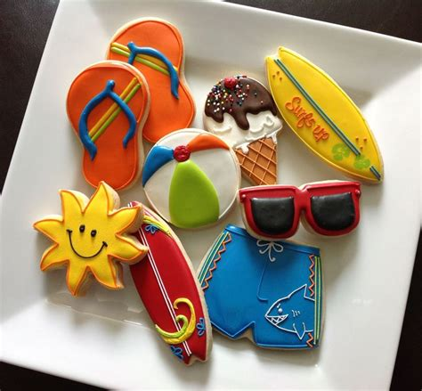 Summer Decorated Cookies by 1000 Ideas About Summer Cookies On Decorated
