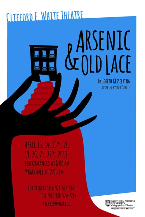 poster design gallery arsenic old lace poster design on behance