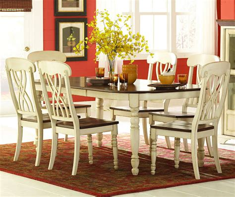 antique white dining room furniture homelegance ohana 7 piece dining room set in white home