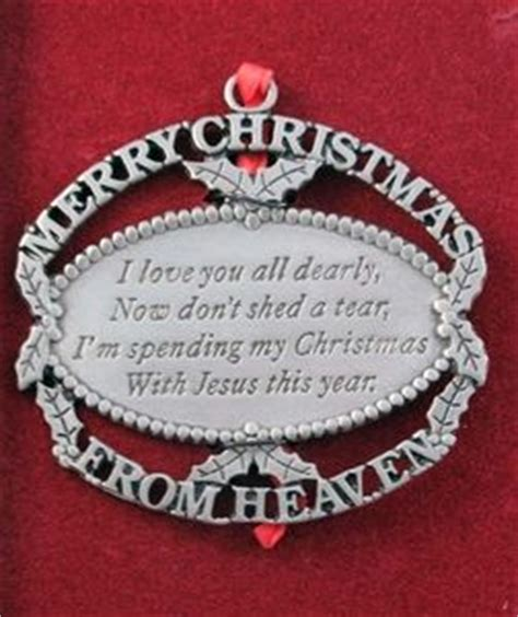 spending with jesus ornament merry from heaven ornament quot i you all