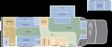 dynamax rv floor plans 2006 dynamax isata e series 282 floorplan