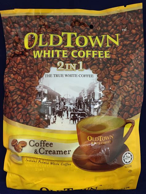 White Coffee Town town instant white coffee 2 in 1 coffee creamer