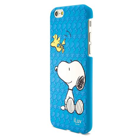 Snoopy For Iphone 6 iluv snoopy series snoopy woodstock ai6snoobl b h