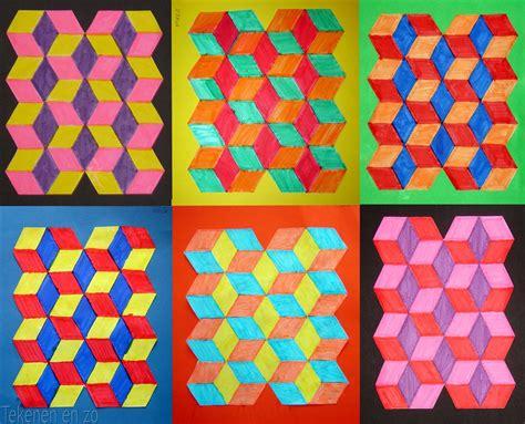 pattern art grade 4 tekenen en zo september 2010