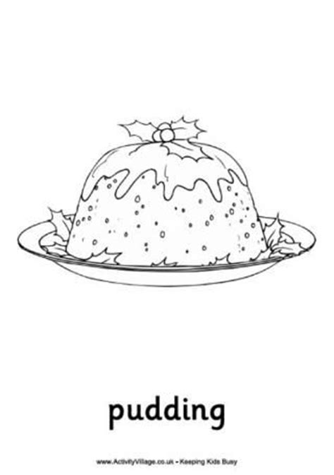 colouring pages christmas pudding christmas pudding colouring pages and puddings on pinterest