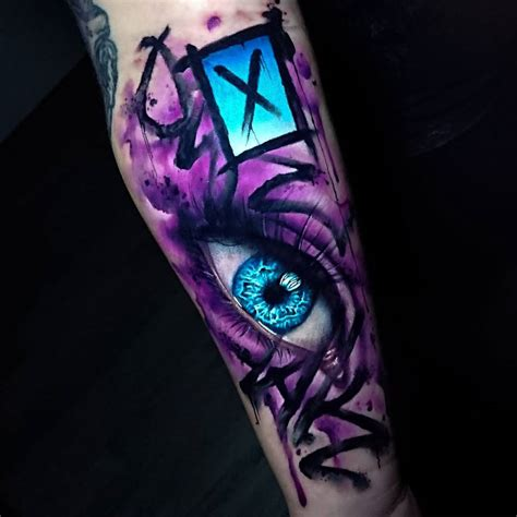graffiti amp human eye best tattoo design ideas
