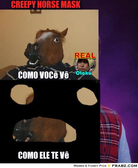Meme Mask - horse mask meme