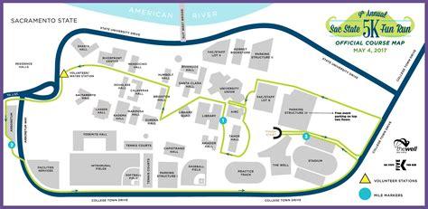 sac state map sacramento state cus map my