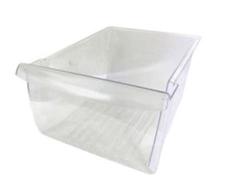 frigidaire upper crisper drawer cover frigidaire ffhs2311lb6 upper bottom crisper drawer