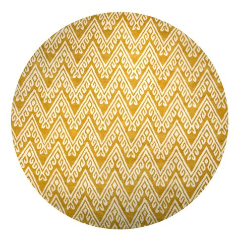 rizzy home bradberry downs gold chevron 8 ft x 8 ft