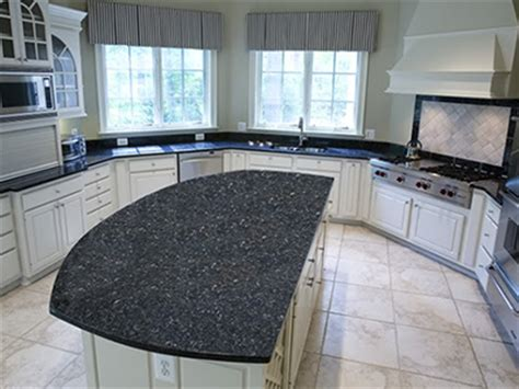Blue Kitchens With White Cabinets by Blue Pearl Granite Featured Granite Absolute