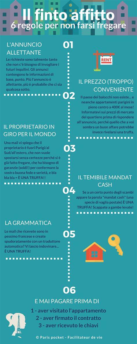 regole per affittare un appartamento infografica 6 regole per riconoscere un affitto farlocco