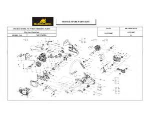 Husqvarna chainsaw parts diagram chainsaw parts diagram