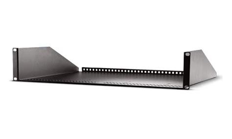 1ru Shelf by Aja Rack Mount Shelf For Ki Pro Ultra Media Systems