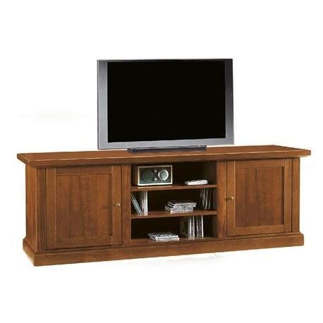 mobili porta tv arte povera porta tv color noce in legno di pioppo