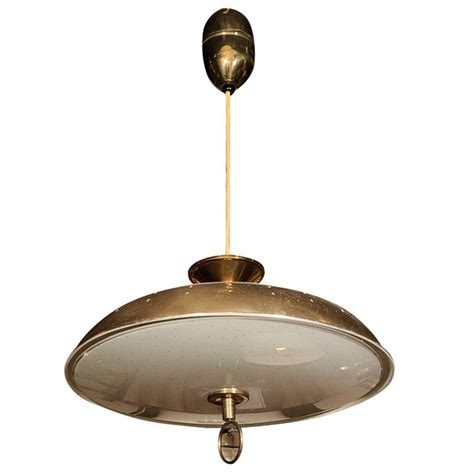 Standard Height For Pendant Lights Lightolier Adjustable Height Brass Light Fixture At 1stdibs