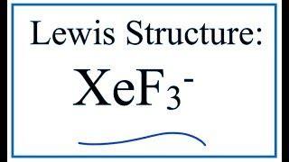 XeO3 hybridization | GulluTube Xef3 Molecular Geometry