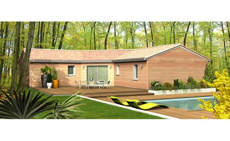 Maison Ossature Bois Plain Pied Mzaol maison ossature bois plain pied mzaol