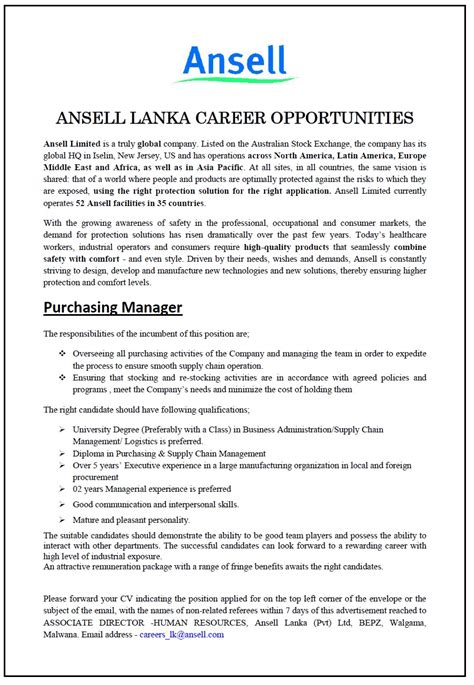 sle cv for logistics officer supply chain and logistics management jobs best chain 2018