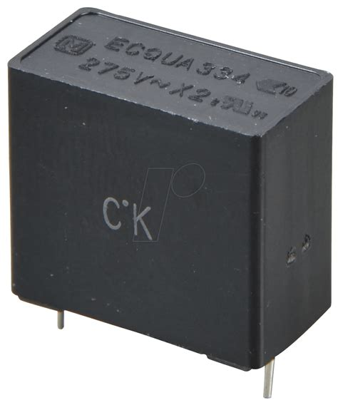 capacitor x2 pan x2 330n noise capacitor x2 275vac 10 0 33 194 181 f at reichelt elektronik