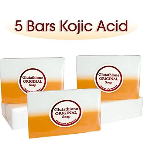 Glutathione Collagen Kojic Acid other health 5 bars kojic acid glutathione
