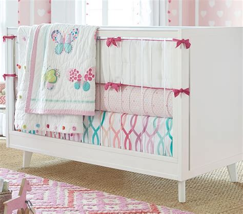 butterfly crib bedding set lucy butterfly nursery bedding sets pottery barn kids