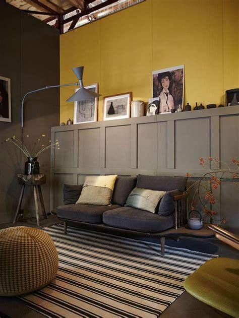 Idees Deco Salon 4162 by 1000 Id 233 Es Sur Le Th 232 Me Gris Jaune Sur Gris