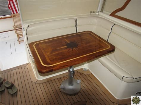 used boat table for sale mariners woodshop cockpit tables salon tables deck