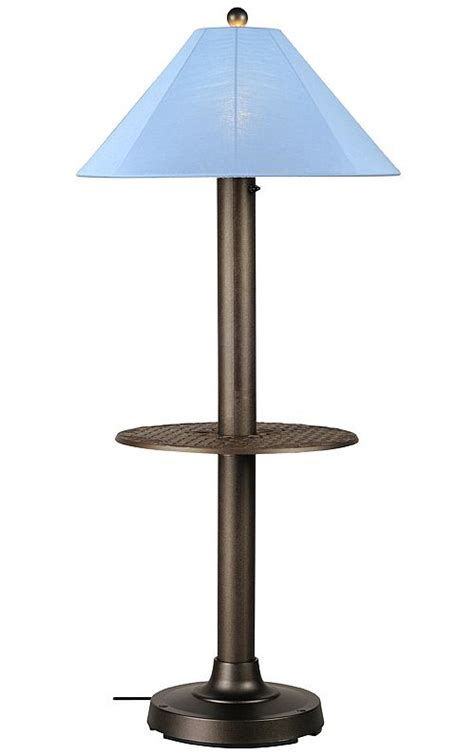 Catalina Ii Patio Floor L With Table 0069 Patio Table Lighting