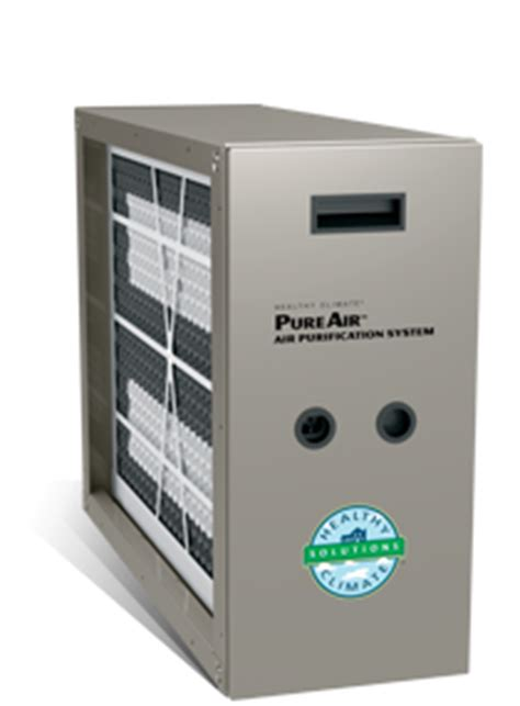 air purification system for furnace lennox pureair 174 air purification system central