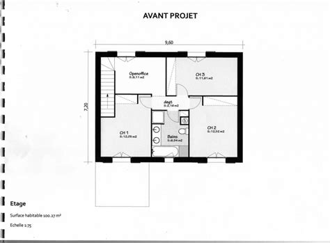 plan pavillon 100m2 avis plan maison r 1 de 100 m2 19 messages