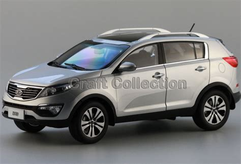 Kia Model Cars Kia Sportage R Siliver Alloy Suv Model Diecast Cars 1 18