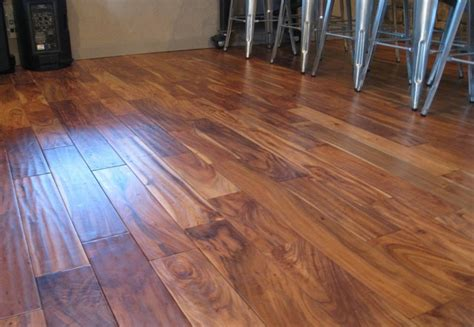 Solid Acacia Wood Flooring by Solid Acacia Scraped Prefinished Traditional