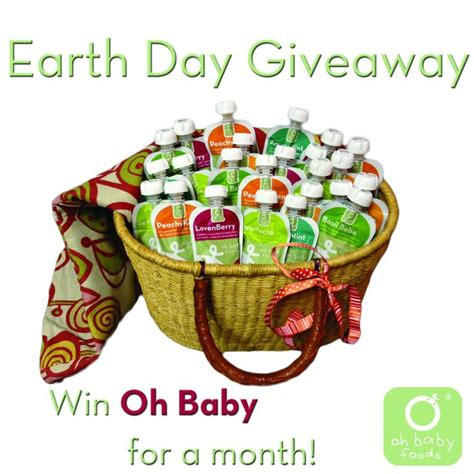 Earth Day Giveaways - 17 best images about giveaways on pinterest earth day baby food puree and new you