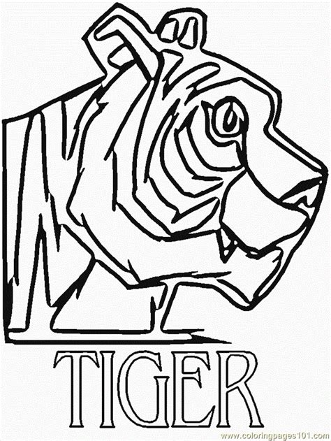 coloring page bengal tiger bengal tiger coloring pages az coloring pages