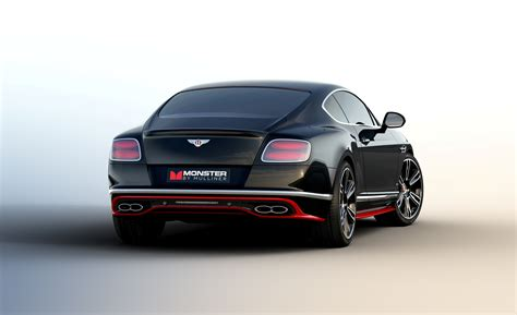 bentley continental mulliner bentley announces limited monster by mulliner continental