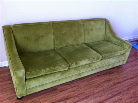 mint green couch 1960 s vintage green couch mint hand make my home