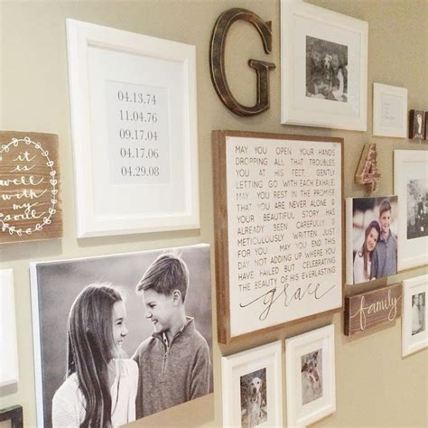wall photo collage ideas with frames adorable 25 large collage picture frames for wall