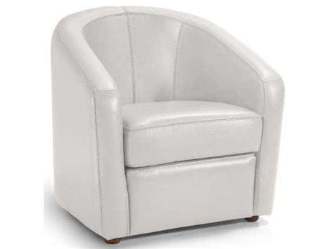 conforama fauteuil fauteuil en cuir novi coloris blanc conforama