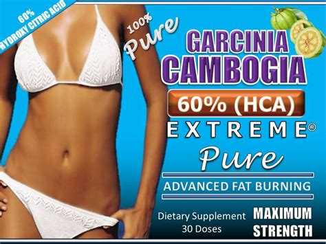 5 supplements currently on the market 3 garcinia cambogia extract 60 hca diet