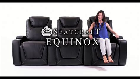 seatcraft equinox home theater seats youtube