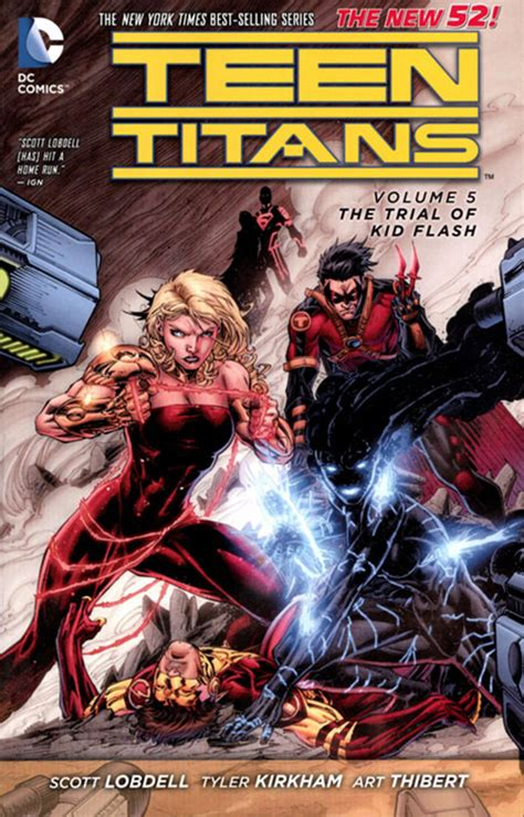 flash tp vol 1 nov140302 teen titans tp vol 05 the trial of kid flash previews world