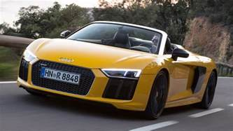 2016 audi r8 spyder review open air v10 thunder