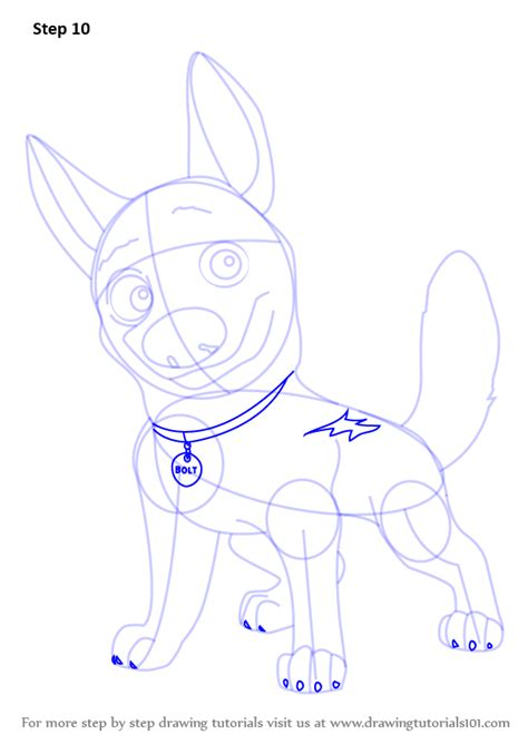 bolt detail drawing learn how to draw bolt the dog bolt step by step
