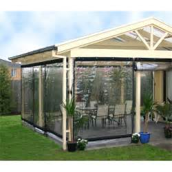 smart home products 210 x 240cm clear pvc outdoor bistro blind