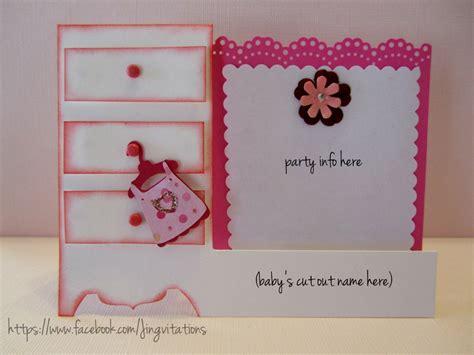 Handmade Baby Shower Invitations - birthday and baby shower invitations baby shower invitations