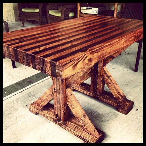 a butcher block table butcher block table i made home