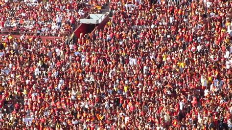 usc student section usc student section quot seven nation army quot 1st quarter hawaii